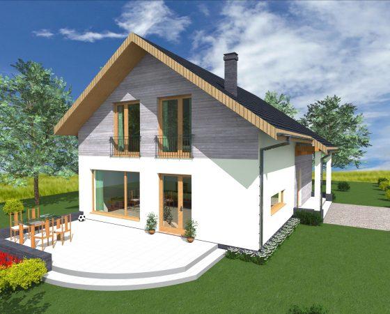 Dom jednorodzinny Góra Puławska